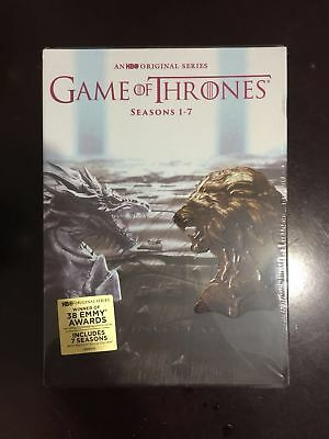 Game Of Thrones  The Complete Seasons 1 7  Dvd  2017  Free Shipping New