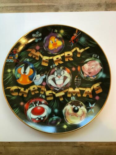 LOONEY TUNES COLLECTOR CHRISTMAS PLATE