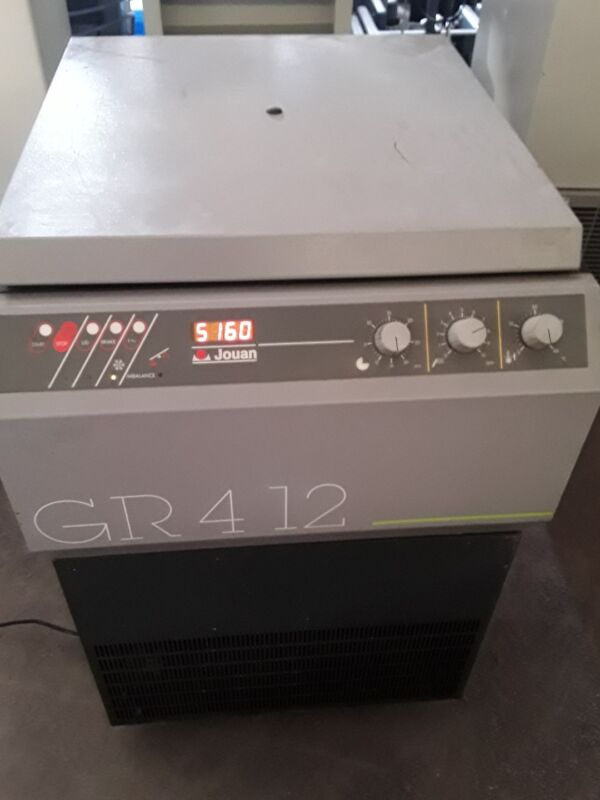 Jouan GR 412 centrifuge with Refrigeration