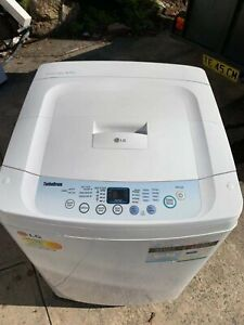 LG 6.5KG fuzzy logic washing machine working very well
