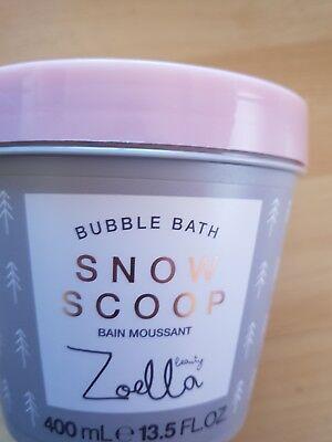 Zoella Snow Scoop Bubble Bath, 400ml