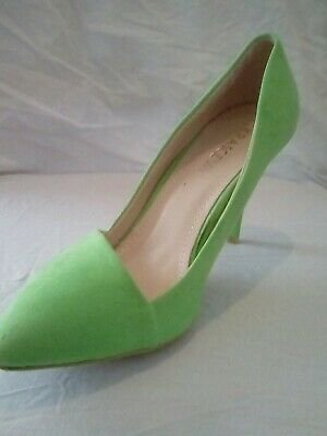 Krasceva Party Evening Shoes Sandals High Heels Green 5/38 - Green Party Shoes