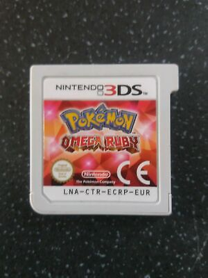 POKEMON OMEGA RUBY 3ds 2ds NEW 2DS XL NEW 3DS XL CART ONLY.