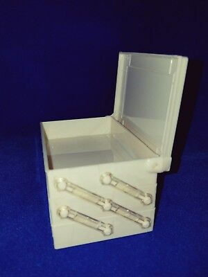 1950s Party Favors (USA Vtg 1950s DECO Lot/20 BOXES IVORY PLASTIC/3-TIER SEWING/JEWELRY/PARTY)