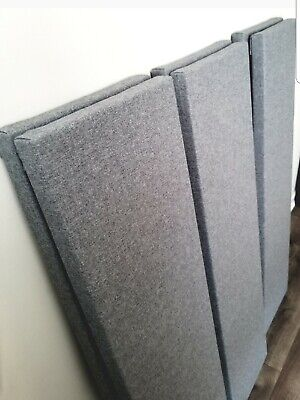 6 Narrow Sound Absorbing Wall Panels