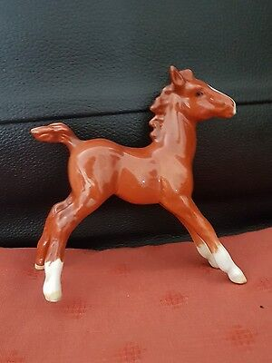 beswick chestnut foal rare