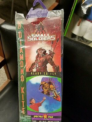 "Small Soldiers Archer 24"" Diamond Kite 1998 Toy Biz Unopened Original Pkg"