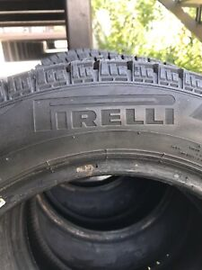 "Pirelli 4 winter tires for sales 14"" 175/65 R14 82T"