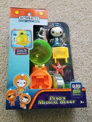 Octonauts Peso's Medical Buggy Glow in the dark Brand new