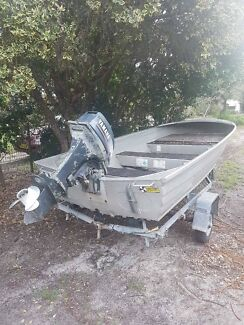 "Boat 12"" with 15 hp"