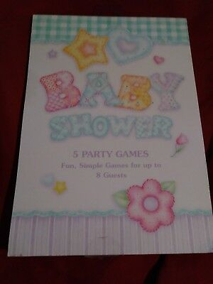 Baby Shower Party Games Book. 5 Games for 8 Guests, Party Favor, New - Baby Shower Party Favors For Guests