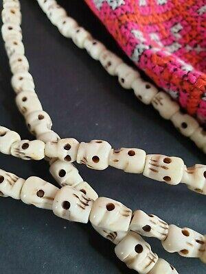 Old Tibetan Skull Prayer Beads / Yak Necklace  …beautiful collection piece