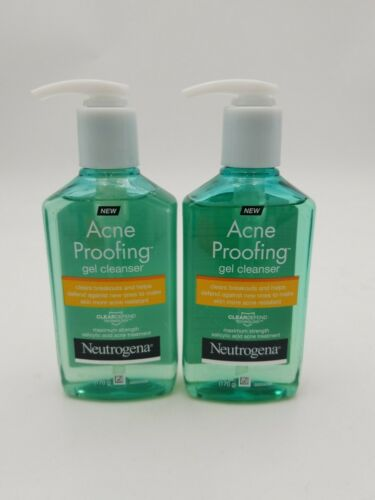 Neutrogena Acne Proofing Daily Facial Gel Cleanser with Sali