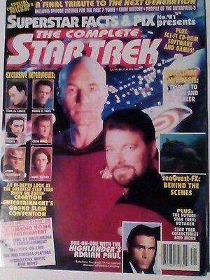 SUPERSTAR FACTS & PIX 31. THE COMPLETE STAR TREK MAGAZINE.