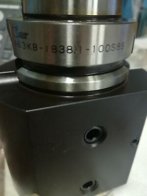 Mst A63kb-ib381-100s89 Chuck End Mill 2 Sided Lock Holder Hsk Capto Cutting Tool