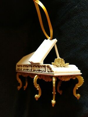 Disney Beauty and the Beast  Christmas Ornament Enchanted Grand Piano