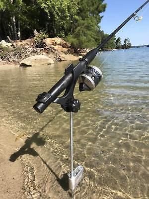 Brocraft Bank Fishing Rod Holder/Ground Fishing Rod Holder ()
