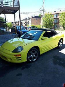 Mitsubishi Eclipse 2003 décapotable impeccable