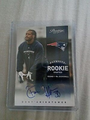 Donta Hightower Autograph Rookie