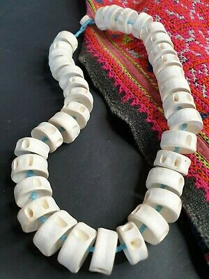 Old Asian Fish Bone Choker Necklace …beautiful collection and accent piece