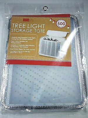 NWT Simplify Christmas Tree Light Storage Tote  w/ Carry Handle](Christmas Tree Storage Tote)