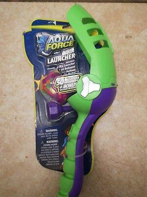 New Wham-o Aqua Force Aqua Launcher Includes 50 Balloons 1 Tie Maker