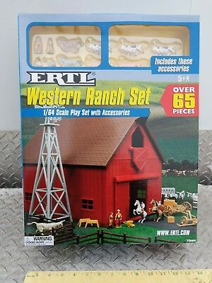 1/64 Ertl Farm Country Toy Building western ranch barn playSet s scale Sealed! for sale  Shipping to Canada