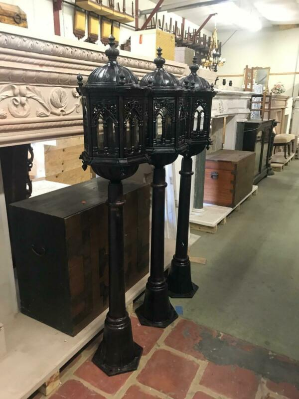 GREAT GOTHIC HEAVY INDOOR OR OUTDOOR VICTORIAN STYLE STREET LIGHTS - JXM002
