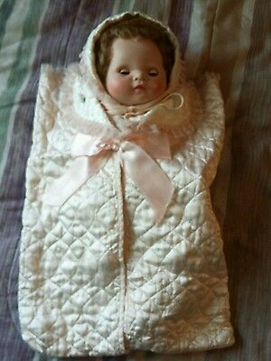 1958 American Character Doll infant 16 inches tall""