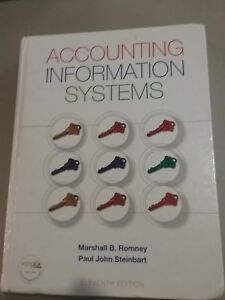 Accounting Information Systems by Marshall B. Romney and Paul John Steinbart (2…