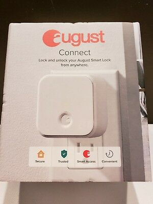 August Connect Wi-Fi Adapter for August Smart Lock White AUG-AC02 New Generation