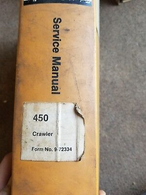 Case 450 Crawler Dozer Bulldozer Service Manual Repair Shop Book 9-72334 Binder
