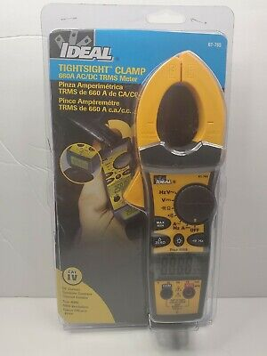 Ideal 61-765 Tightsight True Rms Clamp Meter