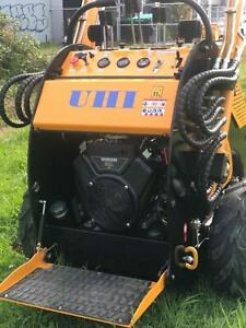 UHI Mini Loader 400 KG Capacity 23HP B&S Engine with GP Bcket, Triple pump Chipping Norton Liverpool Area Preview