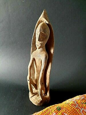 Old Batak Carved Wooden Figure …beautiful collection & display piece