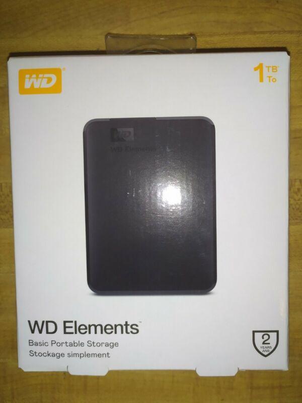 WD Elements 1TB, Brand New