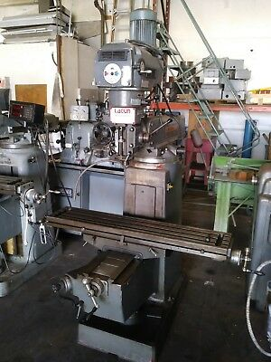 Lagun Bridgeport Mill Milling Machine 9 X 48 Model Ftv-2s Variable Speed