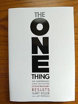 THE ONE THING : KELLER, GARY/ PAPASAN, JAY - NEW HARDCOVER BOOK