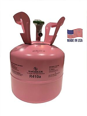 R410a R-410a R 410a Refrigerant 7.5lb Tank New Factory Sealed Made In Usa