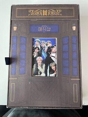 BTS 5th Muster Magic Shop DVD 4 DVD+Photo Book+POP-UP Box + Jimin Photo card