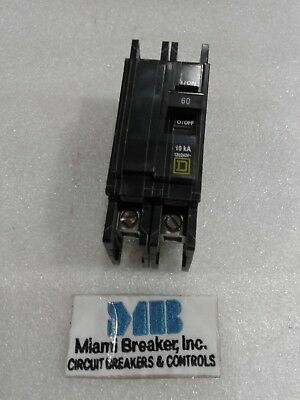 Qou260 Square D Circuit Breaker 2 Pole 60 Amp 120240v New In Box