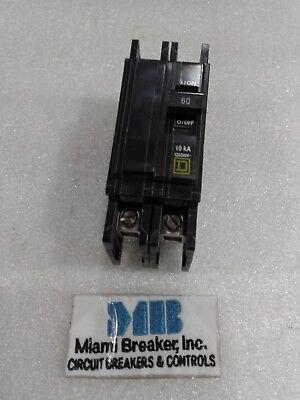 Qou260 Square D Circuit Breaker 2 Pole 60 Amp 120240v New In Box