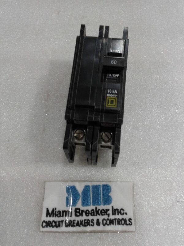 QOU260 Square D Circuit Breaker 2 Pole 60 Amp 120/240V NEW IN BOX!