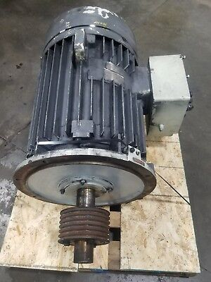 Mitsui 75 Kw 100hp 2 Speed 3 Phase Induction Motor 3877sr