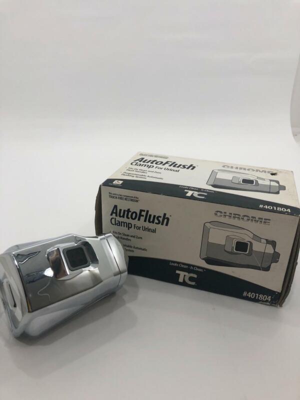 Technical Concepts AutoFlush Clamp Toilet Urinal Brands Sloan Zurn Chrome 401804