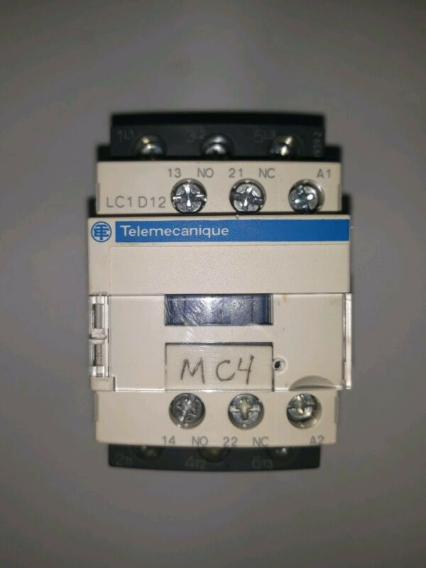LC1D12 Telemecanique AC Contactor 25A USED