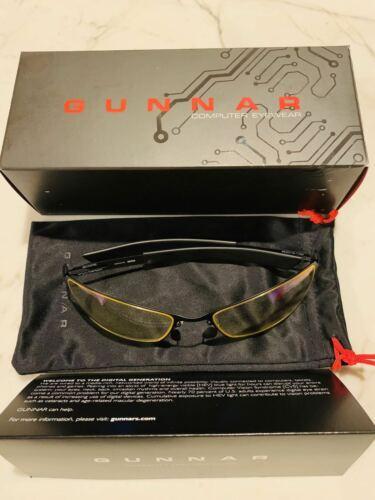 Brand New Gunnar Optiks Scope Computer Glasses SCP-04301 Onyx/Carbon Amber Lens