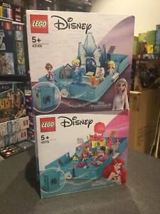 lego disney princess story books