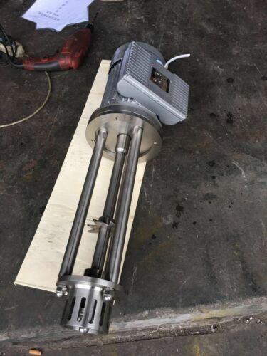 High  Shear Mixer Disperser Emulsifying Machine Emulsion(1.5KW,220V)