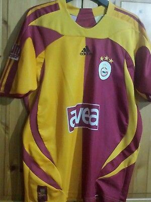 Galatasaray (turkish) Home Football Shirt size L
